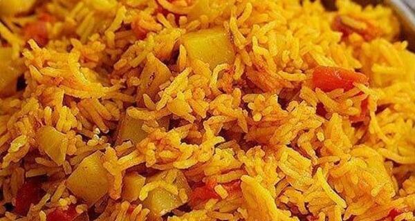 طرز تهیه دمی گوجه به همراه سالاد شیراز