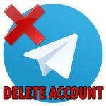 دیلیت اکانت تلگرام چگونه انجام میشود؟