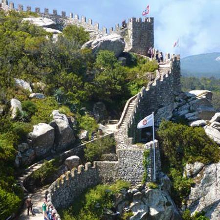 castle moors 03 - قلعه مورس ها در پرتغال (+تصاویر)