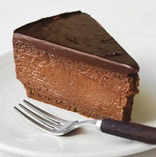 دستور پخت چیز کیک شکلات بدون فر خانگی