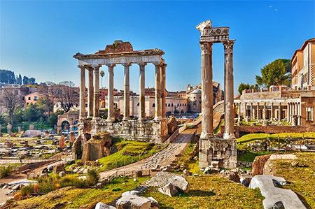 history roman forum 24 - رومن فروم رم ایتالیا