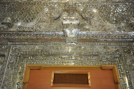 mozaffari palace 002 - آشنایی با کاخ مظفری دارآباد +تصاویر