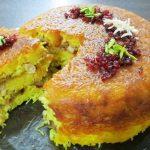 طرز تهیه ته چین شیرازی