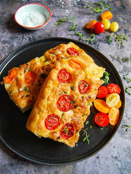 fukachia3 bread2 1 - طرز تهیه نان فوکاچیا، نان ایتالیایی