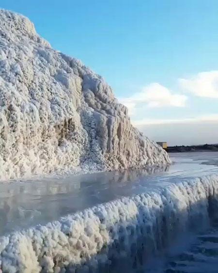 waterfall potash salt 24 - پتاس، اولین آبشار نمکی جهان