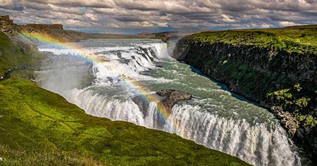 gullfoss falls iceland 23 - آبشار گولفوس بهترین ابشار ایسلند