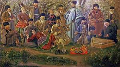 music sassanian2 4 - موسیقی در دوران ساسانیان