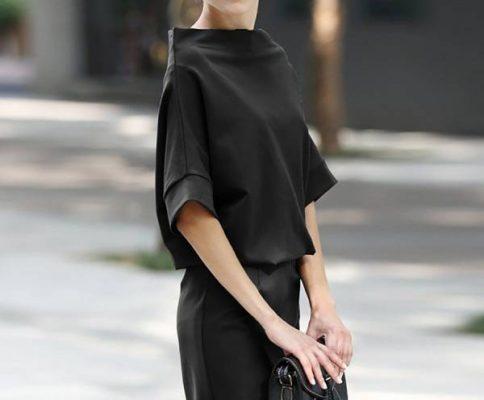 پوشیدن لباسهای تیره - عاداتی که شما رو پیرتر از سنتون نشون میدن