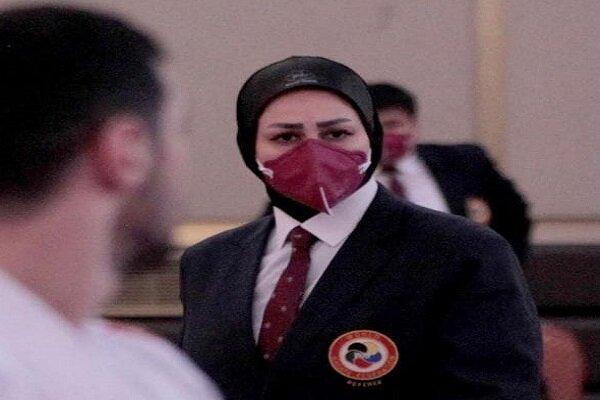 داور بانوی ایرانی عضو هیات ژوری لیگ جهانی کاراته شد