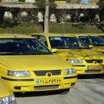 برچسب گذاری نرخ جدید کرایه  های تاکسی در تهران آغاز شد