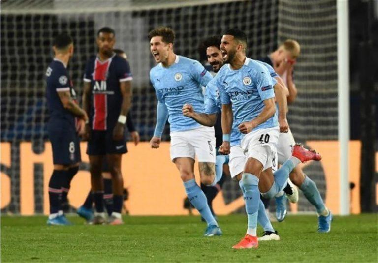 لیگ قهرمانان اروپا| منچسترسیتی با بازگشت مقابل PSG به فینال نزدیک شد