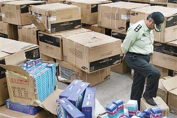 کشف ۹۵ میلیارد ریال کالای قاچاق در استان مرکزی
