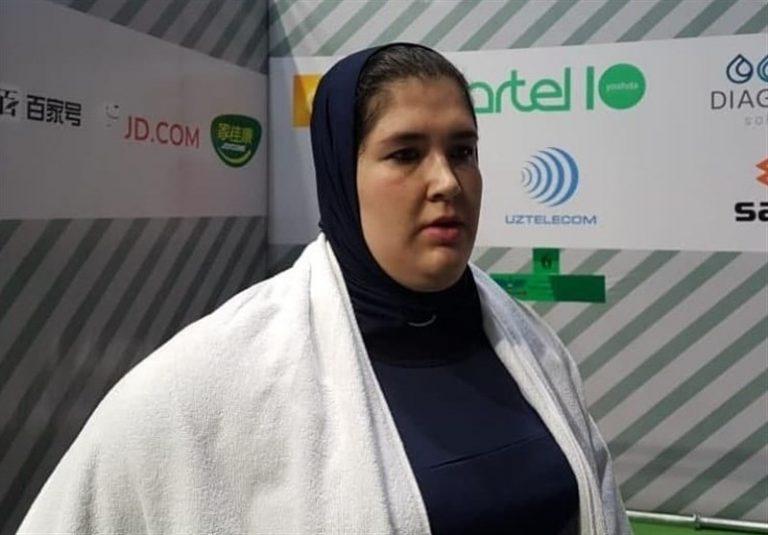 وزنهبرداری قهرمانی آسیا| فاطمه یوسفی هفتم شد