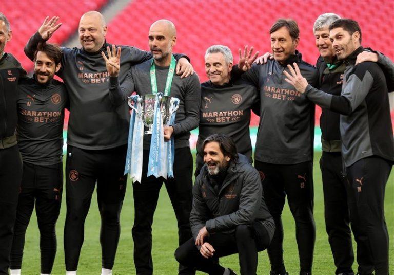 گواردیولا: کسب چهار قهرمانی متوالی در جام اتحادیه لذتبخش است/ تیمم با شخصیت بازی کرد