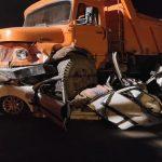 تصادف مرگبار سواری لیفان با کامیون در اتوبان بعثت تهران