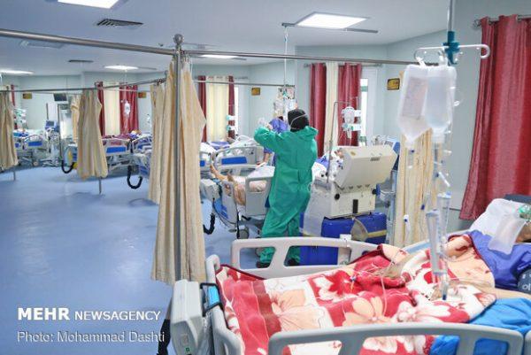 ۶۳۳ تخت در بیمارستانهای اردبیل در اختیار بیماران کرونایی