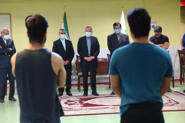 بازدید اردوی المپینها از برنامه کمیته ملی المپیک خارج شد
