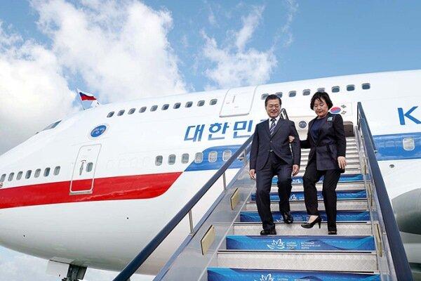 رئیس جمهور کره جنوبی به واشنگتن سفر میکند