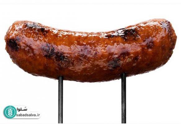 سوسیس مرغ scaled - سوسیس و کالباس مفید است؟!