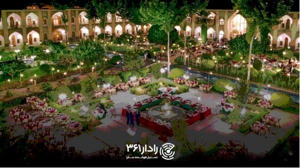 اقامت در هتل عباسی اصفهان با ارزانترین قیمت