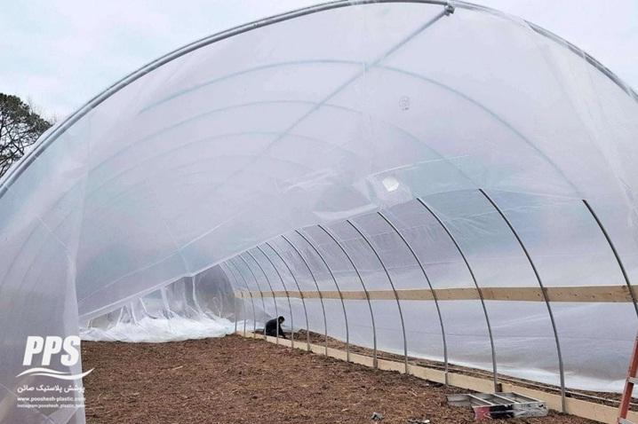 گلخانه نایلونی - نایلون گلخانه ای پوشش پلاستیک