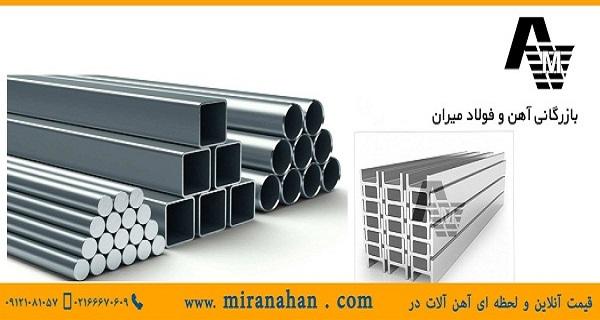 قیمت آهن آلات و نوسانات قیمت بازار آهن : بازرگانی آهن میران