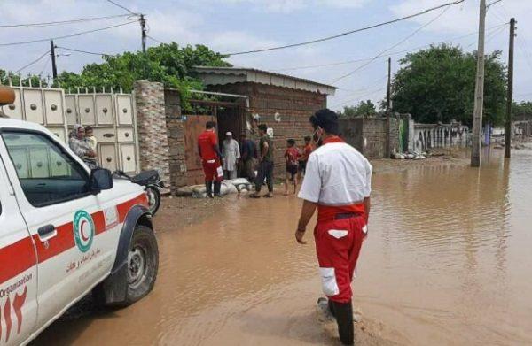 امدادرسانی در ۳۲ شهر و روستای درگیر سیل