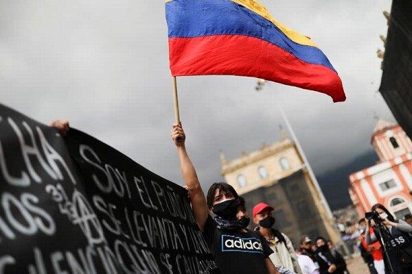 بازداشت ۱۸۰ نفر از معترضین در کلمبیا