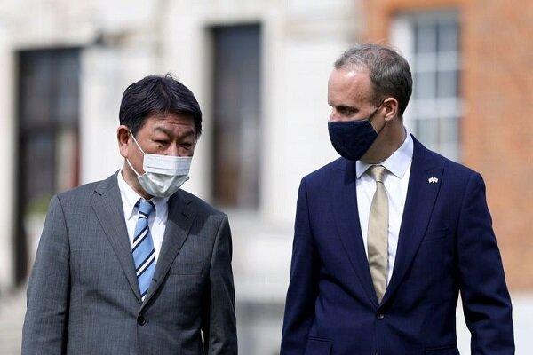 تاکید لندن و توکیو بر لزوم افزایش روابط دوجانبه امنیتی و اقتصادی