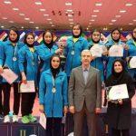 شهرداری شهر بابک قهرمان لیگ تنیس روی میز بانوان شد