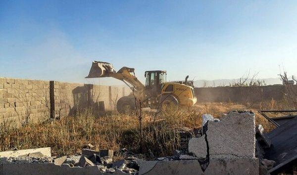 راه اندازی بانک اطلاعات مربوط به تصرفات غیرمجاز و تخریب اراضی ملی