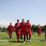 واکسینه شدن بازیکنان تیم ملی فوتبال بانوان و پایان اردو