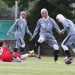 بازیکنان و کادر فنی تیم ملی فوتبال بانوان واکسینه شدند