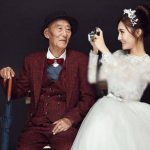 ازدواج غم انگیز دختر جوان با پدر بزرگش ؟! + تصاویر