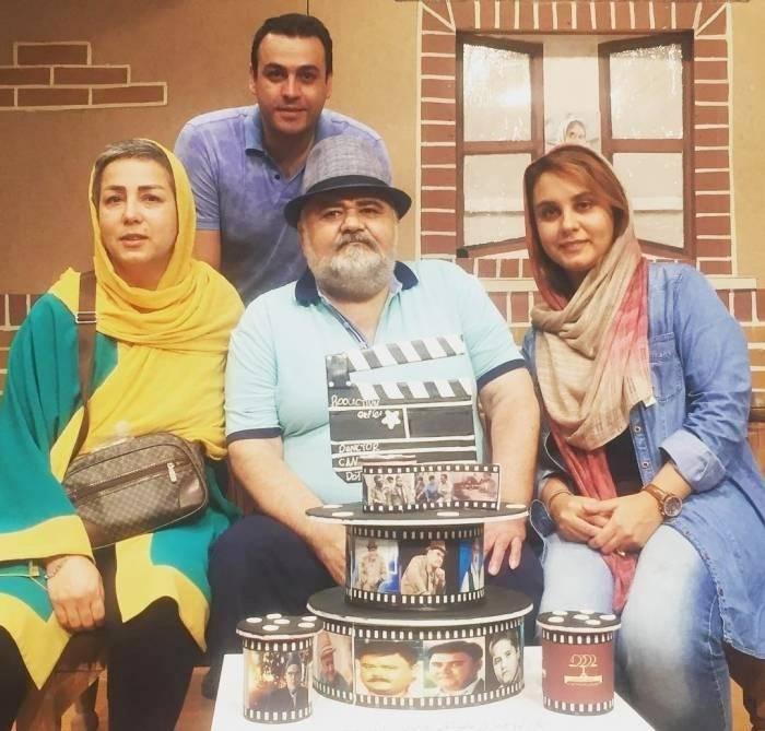 اکبر عبدی و همسرش - مهریه عجیب بازیگران زن ایرانی