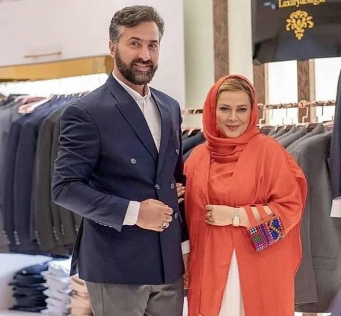 بهاره رهنما و همسرش - مهریه عجیب بازیگران زن ایرانی