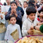 جشن گرگیعان کودکان خوزستان