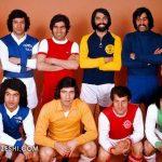 تصویری به یاد ماندنی از سوپراستارهای فوتبال ایران در جام تخت جمشید