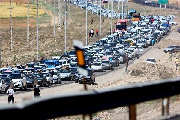 ترافیک سنگین در محورهای هراز، چالوس و فشم