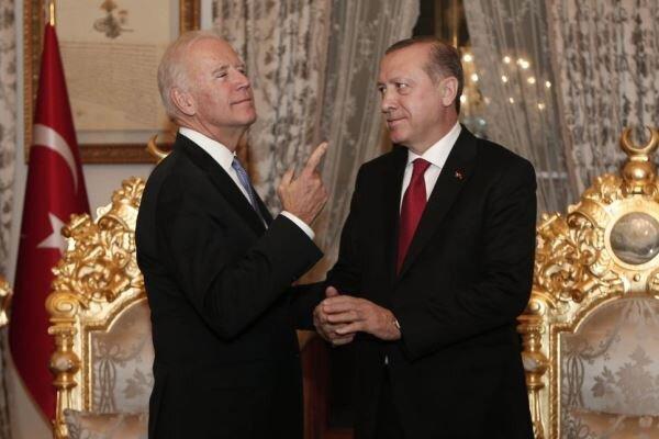 یکی از موضوعات دیدار بایدن و اردوغان «اختلافات دو کشور» است