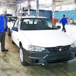 تولید وانت آریسان با موتور دوگانه سوز XU7