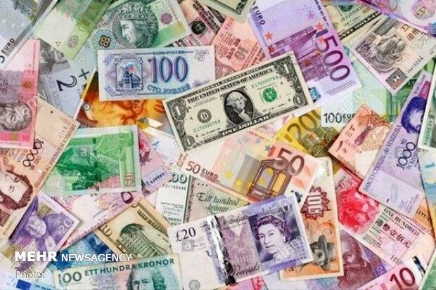 جزئیات نرخ رسمی ۴۶ ارز/ قیمت ۲۵ ارز کاهش یافت