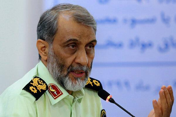 آمادگی کامل نیروی انتظامی برای برگزاری انتخابات