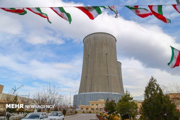 نخستین واحد گازی نیروگاه کلاس «اف» هنگام افتتاح شد