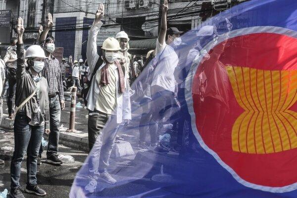 توافق «آ سه آن» به ادامه گفتگو برای حل سیاسی بحران میانمار