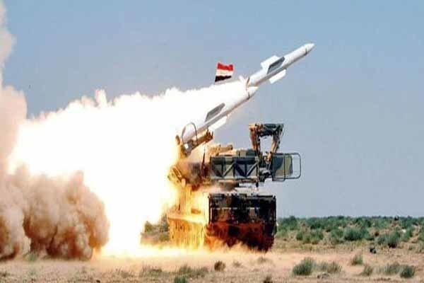 پدافند سوریه با تجاوز رژیم صهیونیستی مقابله کرد