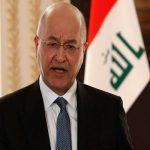 تمجید برهم صالح از حشد شعبی عراق