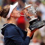 کریچیکووا فاتح تنیس رولان گاروس زنان شد
