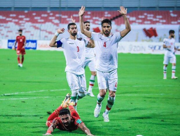پرداخت پاداش پیروزی ملی پوشان مقابل بحرین