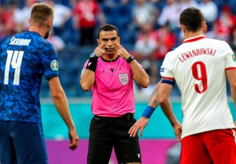 یورو 2020  هاتگان داور بازی ایتالیا – ولز شد